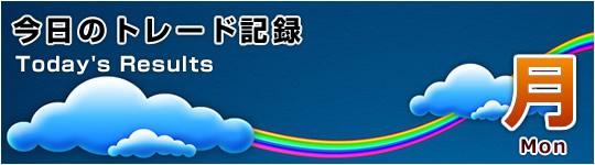 ハリケーンで30日も米株休場:2012年10月29日(月)のトレード記録(ノーエントリー)