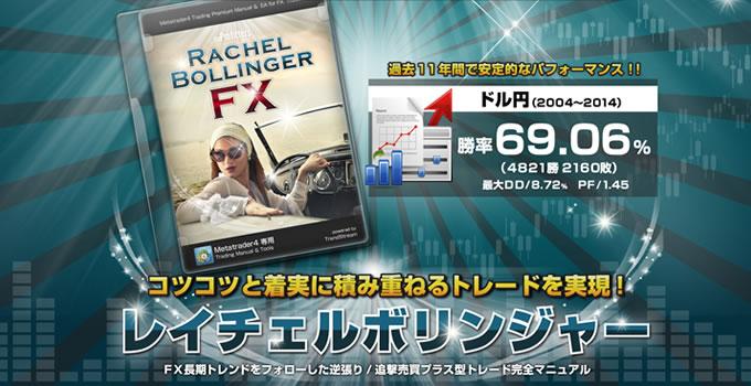 本日終了!レイチェルボリンジャーをリリース記念価格で…!