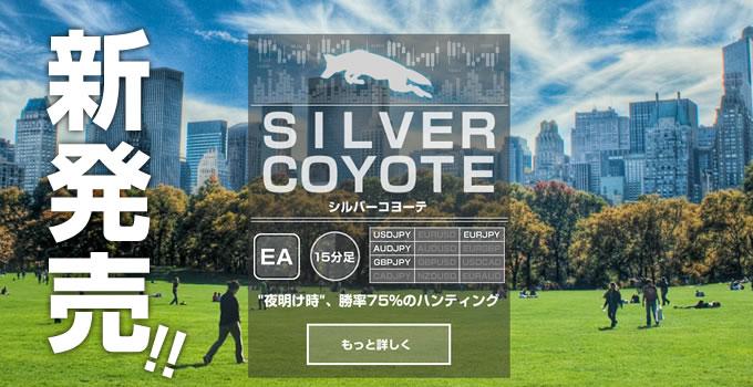 遂に!SilverCoyote販売開始しました。